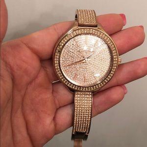 Stunning Michael Korda Crystal watch